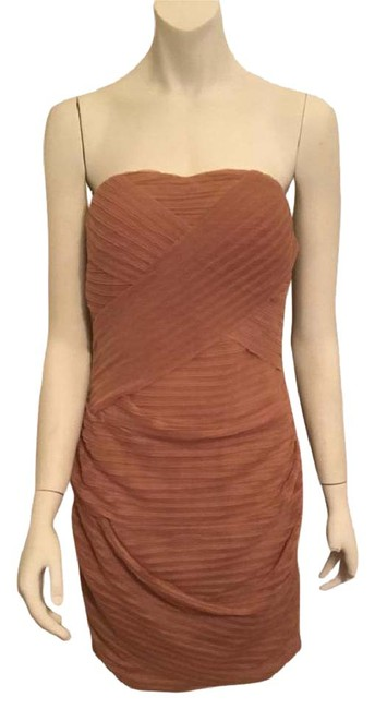 Preload https://img-static.tradesy.com/item/20632003/ark-and-co-tan-large-strapless-short-night-out-dress-size-12-l-0-7-650-650.jpg
