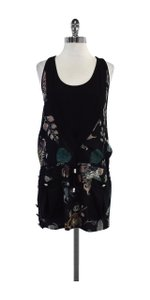 Versus Versace short dress Multi Color Floral Print Silk on Tradesy