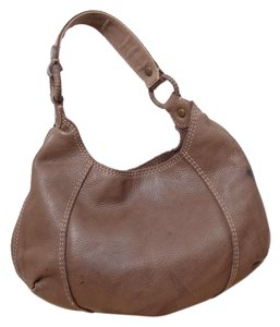 Lucky Brand Pebble Leather Shoulder Bag