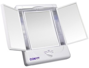 Conair Conair® Illumina Collection 3 Panel Lighted Makeup Mirror - Electric