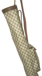 Gucci Monogram GG Signature Stripe Golf Bag