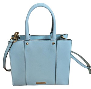 Rebecca Minkoff Tote in Tranquil- light mint blue