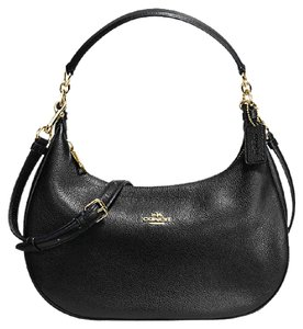 Coach Harley Crossbody Leather Hobo Bag