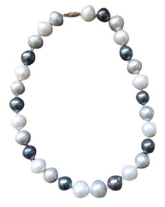 Ross-Simons Ross-Simons 12-15mm multi-colored cultured pearl necklace