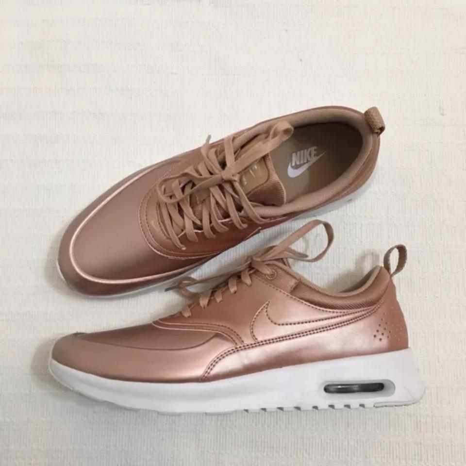 Nike Women's Air Max Thea Se Metallic Red Bronze StyleColor: 861674 902 Sneakers Size US 10.5 Narrow (Aa, N) 21% off retail