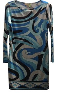 Michael Kors short dress Black, blue, white on Tradesy