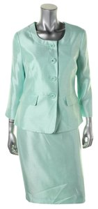 Le Suit The Hamptons Green Shantung