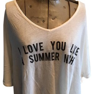 Wildfox T Shirt Cream