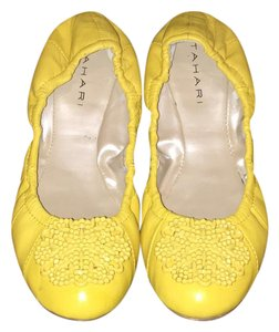 Tahari Yellow Flats