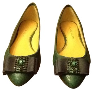 Antonio Melani Dark green Flats