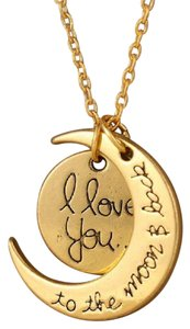 Boutique 9 I Love you to the moon and back necklace