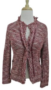 Anthropologie Cardigan 3/4 Sleeve Fringed Jacket Sweater