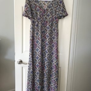 multi Maxi Dress by Xhilaration Maxi Sheer Beach Coverup Floral