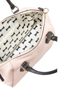 Kate Spade Satchel in pink champagne and black