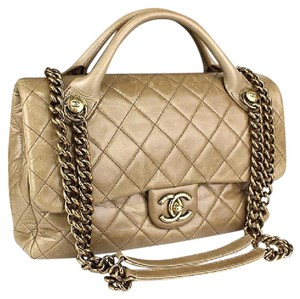 Chanel Lambskin Chain Boy 2-way Boy Shoulder Bag