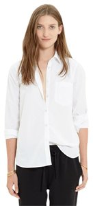 Madewell Blouse Button Down Shirt White