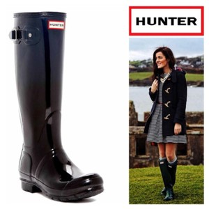 Hunter Black Haze Boots