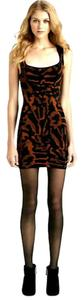 Torn by Ronny Kobo Abstract Bodycon Moran Dress