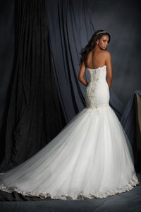 Sweetheart Neckline Bridal Dress With Dropped Waist Style 2507 Wedding Dress