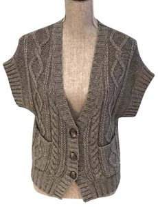 Banana Republic Wool Vests Vests Cardigan