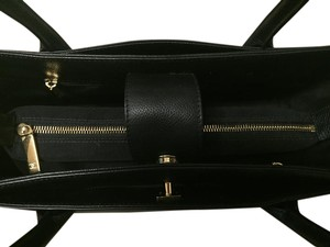 Chanel Gold Shopping Classic Tote in Black