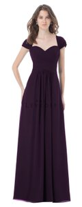 Bill Levkoff Plum Style 496 Dress