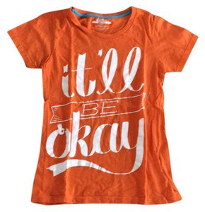 Threadless T Shirt Orange