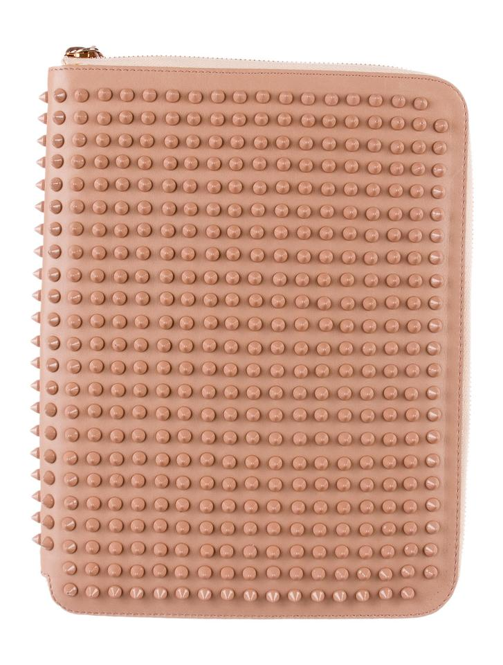 54f2946d4796 Christian Louboutin Nude leather Christian Louboutin Spiked leather iPad  case Image 0 ...