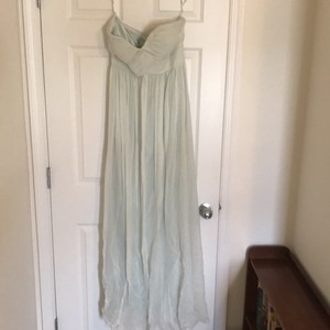 Donna Morgan Blue Donna Morgan Silk Gown Dress