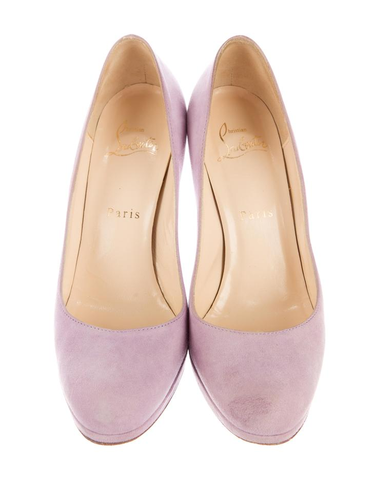 5dee414ee82 Christian Louboutin Lavender Suede New Simple 120 Pumps Size US 7