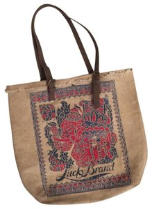 Lucky Brand Tote in tan