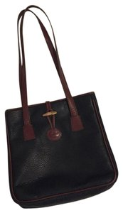 Dooney & Bourke black and brown Messenger Bag
