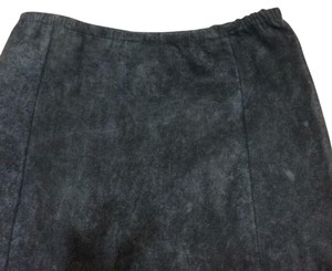 Elie Tahari Skirt Distressed navy