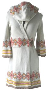 Anthropologie Cotton Cardigan Robe Southwest Sweater