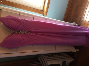 Alfred Angelo Pink Champagne Floor Length Dress