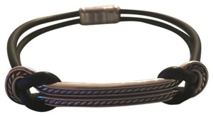 David Yurman Maritime Rubber Reef ID Bracelet