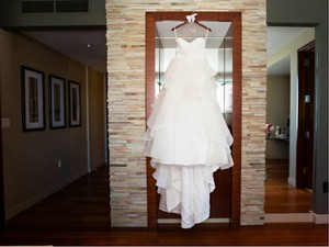 Hayley Paige Guindon Solid Ivory Wedding Dress