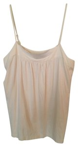 Ann Taylor LOFT Off White Top cream