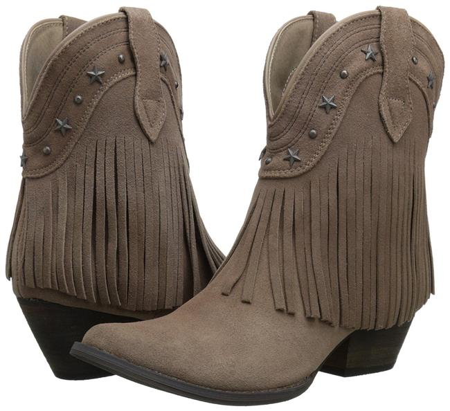 Item - Taupe Suede Boots/Booties Size US 8.5 Regular (M, B)