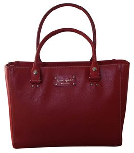 Kate Spade Tote in Red Orange