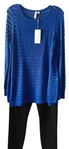 Katherine Barclay Top Blue