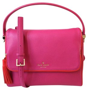 Kate Spade Chester Miri Satchel in sweet heart pink Red