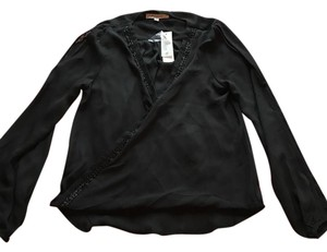 Francesca's Top Black