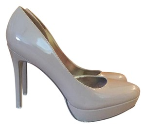 Madden Girl Patent Leather Nude Pumps