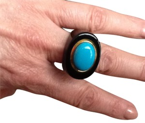 Other Black onyx and Turquoise ring