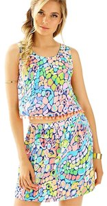 Lilly Pulitzer Skirt Multi Gypsy Jungle