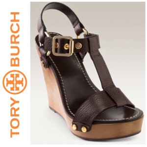 Tory Burch Brown Wedges