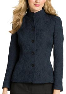 Zanella Shana Crinkled Texture rich navy blue Jacket