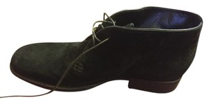 To Boot New York Mens Black Suede Boots