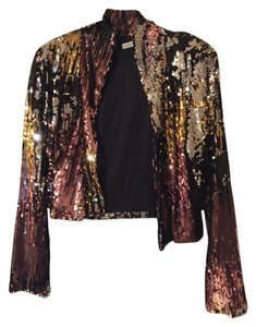 Adore! Formal Multi bronze, silver, gold and black Jacket